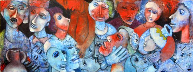 בוגרים עושים אומנות - ציור ופיסול